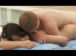 Soapy feelling massage