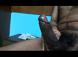 Big Black Cock Oiled - 2
