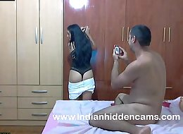 married amateur indian couple sex in bedroom getting naughty