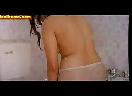 Reshma Bath in White Panty