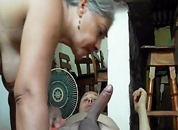 mature indian mom having sex with her young grand son
